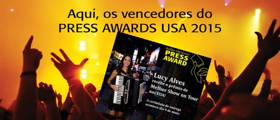 Lucy Press Awards International 2015 site